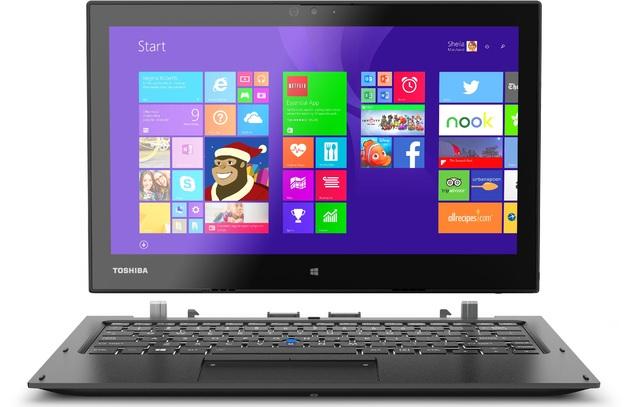 "12.5"" Toshiba Portégé Z20T-B Laptop/Tablet Intel Core M-5Y51 4GB with 4G LTE"