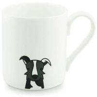 Tiny Grey Mug (Border Collie)