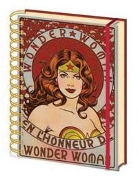 Wonder Woman: A5 Notebook - En L'Honneur De