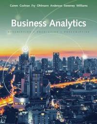 Essentials of Business Analytics by Jeffrey Ohlmann