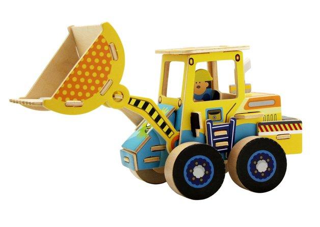 Robotime: Forklift Construction Vehicle