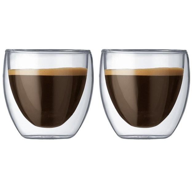 Bodum: Pavina Double Wall Glasses (250ml) - Box of 2