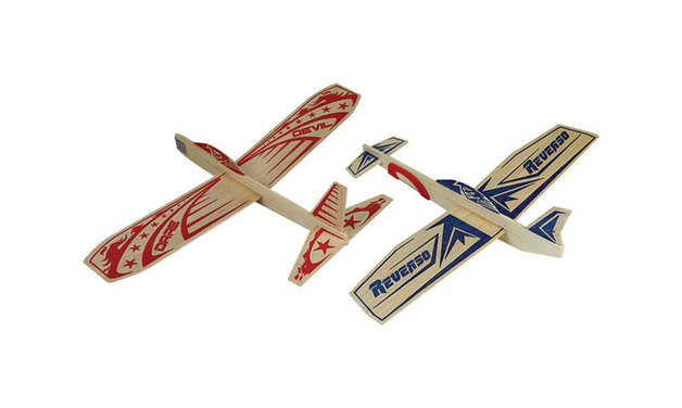 Guillow: Super Hero Twin Pack Glider