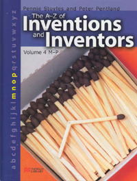 The A-Z Inventions and Inventors Book 4 M-P Macmillan Library by Pennie Stoyles image