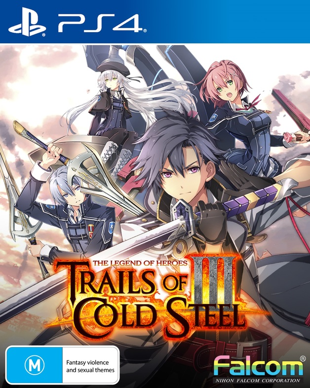 The Legend of Heroes: Trails of Cold Steel III Early Enrollment Edition for PS4