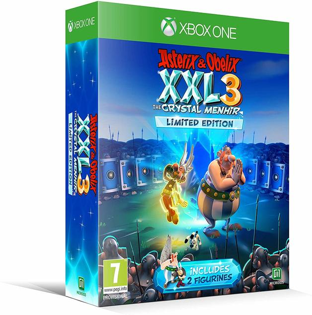 Asterix and Obelix XXL3 The Crystal Menhir Limited Edition for Xbox One