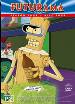 Futurama Season 4 Disc 4 on DVD