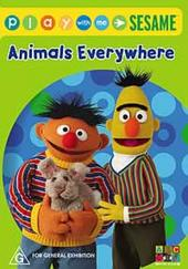 Play With Me Sesame - Animals Everywhere on DVD