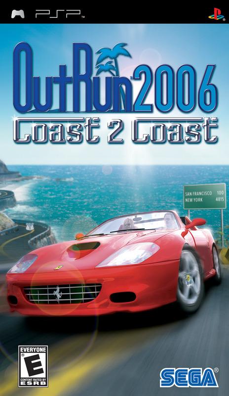 OutRun 2006: Coast 2 Coast for PSP