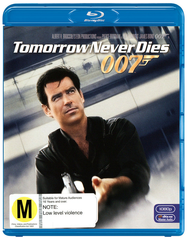 Tomorrow Never Dies (2012 Version) on Blu-ray