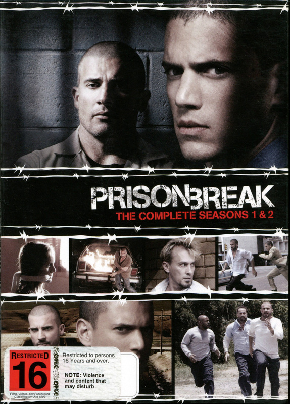 Prison Break - The Complete Seasons 1 And 2 (12 Disc Box Set) on DVD