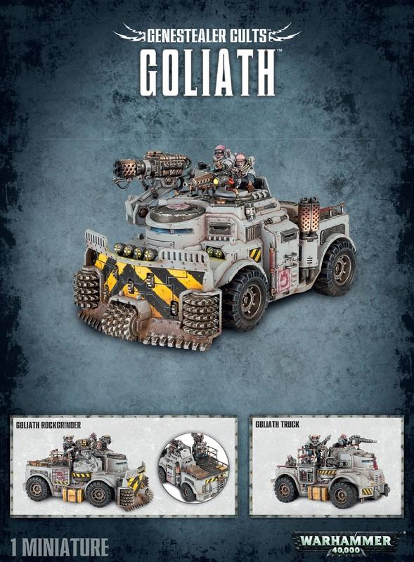 Warhammer 40,000 Genestealer Cults Goliath