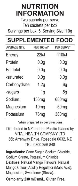 SOS Rehydrate - Mango (10 Serve) image