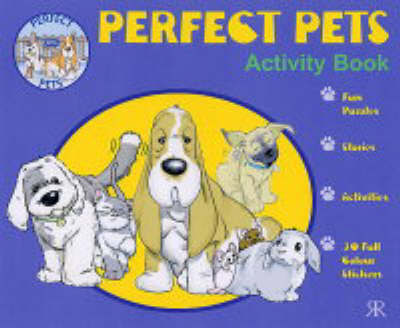RSPCA Perfect Pets Activity Book by Gordon Volke image