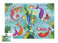 Crocodile Creek: Shaped Box Puzzle - Mermaid (36pc)
