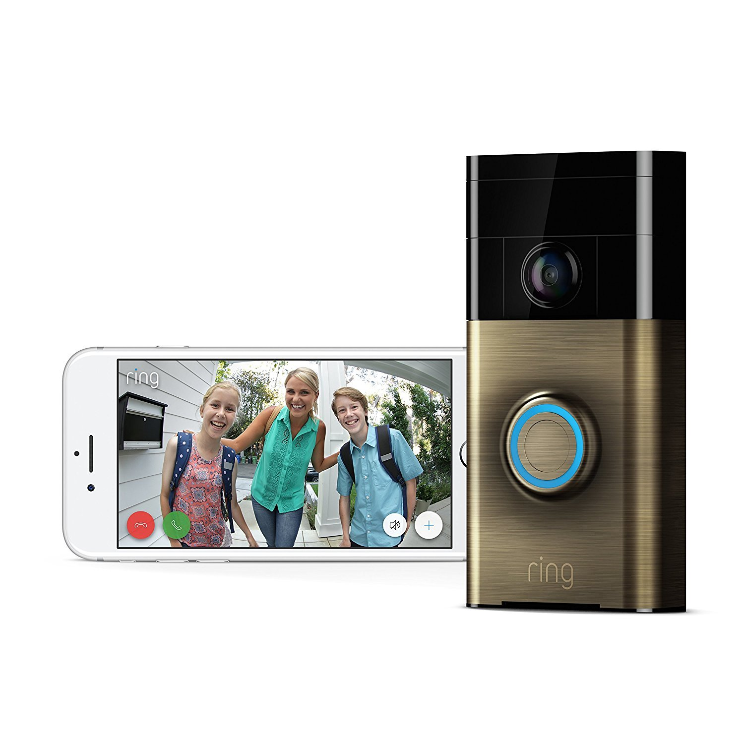 Ring: Video Doorbell - Antique Brass image