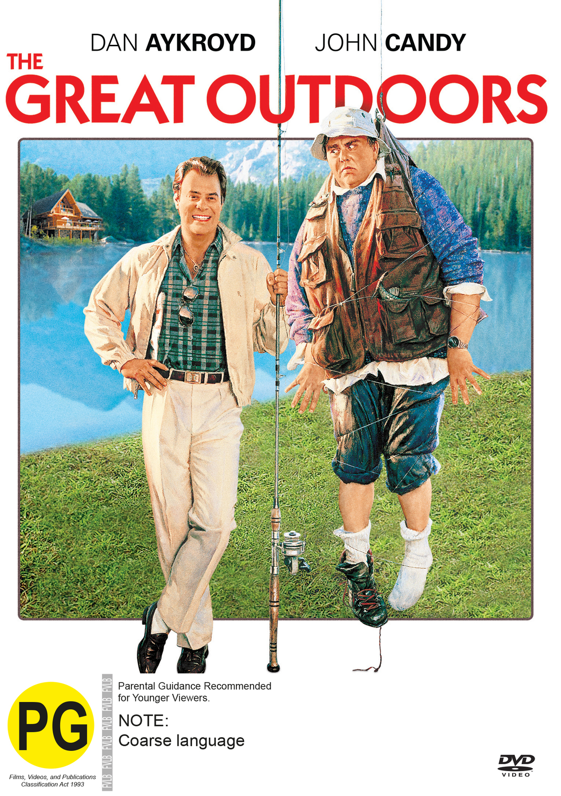 The Great Outdoors on DVD image