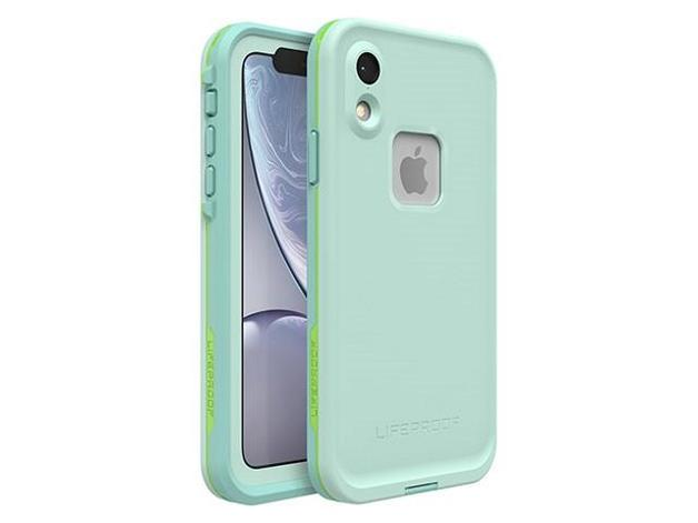 Lifeproof: Fre Case for iPhone XR - Tiki Blue Lime