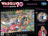 Wasgij: 17 - Paying the Price 1000pc Puzzle image