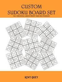 Custom Sudoku Board Set by Kent Quey