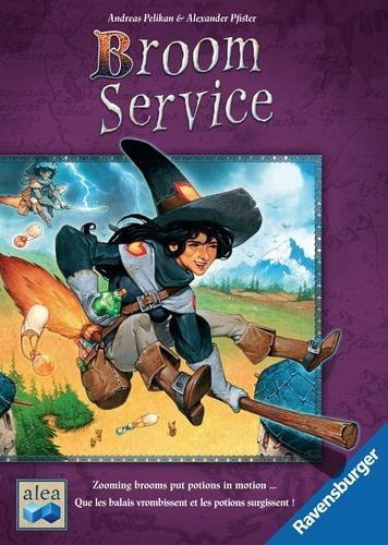 Broom Service - Board Game