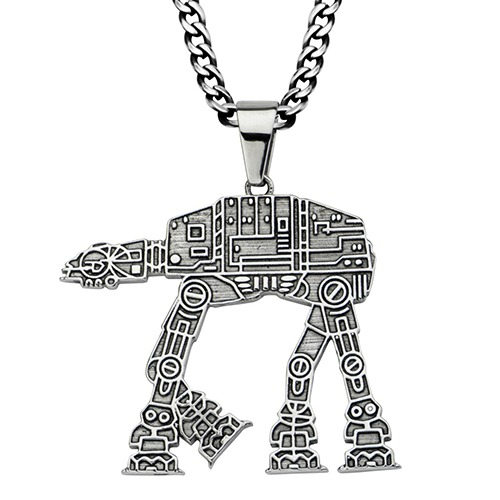 Star Wars AT-AT Walker Pendant Necklace
