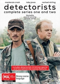 Detectorists: Series One & Two on DVD