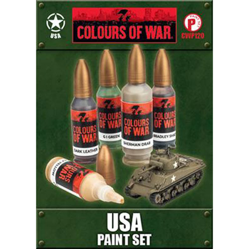 Colours of War - USA Paint Set