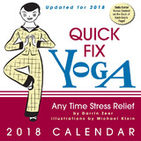 Quick Fix Yoga 2018 Desk Calendar by Darrin Zeer