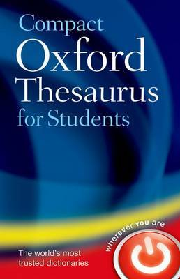 Compact Oxford Thesaurus for University and College Students image