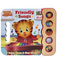 Daniel Tiger's Friendly Songs (Daniel Tiger) by Scarlett Wing image