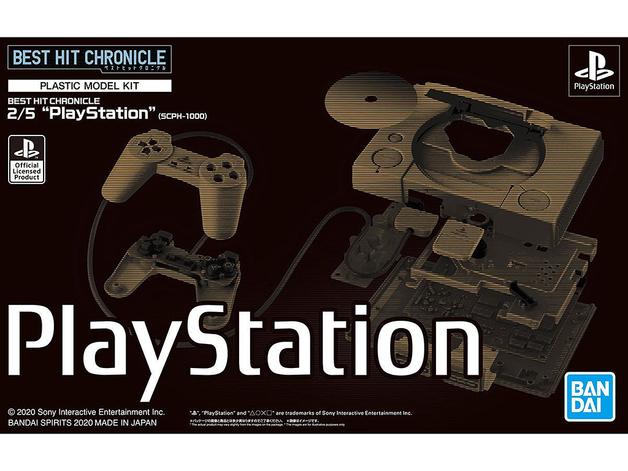 2/5 PlayStation (SCPH-1000) - Model Kit