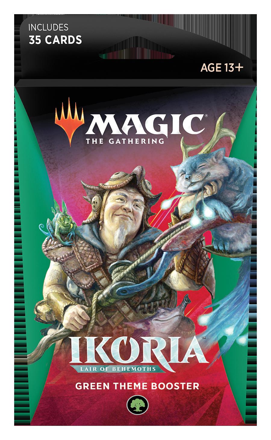 Magic the Gathering: Ikoria: Lair of Behemoths - Theme Booster Green image