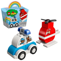 LEGO DUPLO: Fire Helicopter & Police Car - (10957)