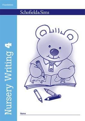 Nursery Writing Book 4 by Kathryn Linaker image