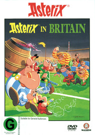 Asterix - Asterix in Britain on DVD