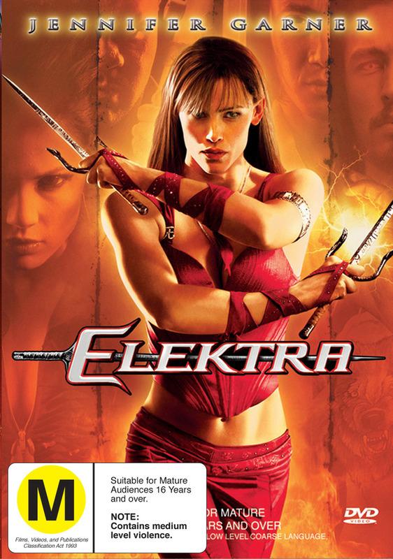 Elektra on DVD