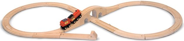 Melissa & Doug: Figure 8 Train Set