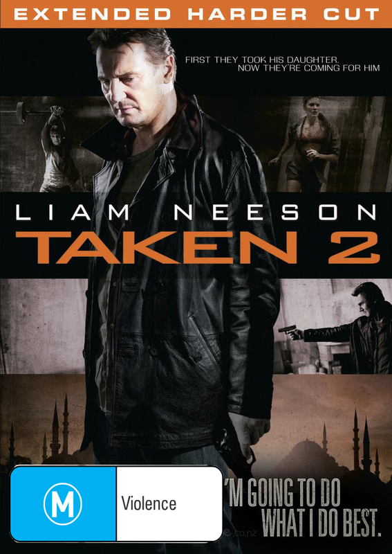 Taken 2 on DVD