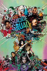 Suicide Squad Poster - One Sheet (527)