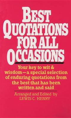 Best Quotations For All Occasions