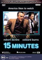 15 Minutes on DVD