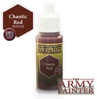 Chaotic Red Warpaint