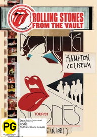Rolling Stones From The Vault - Hampton Coliseum (Live In 1981) on DVD