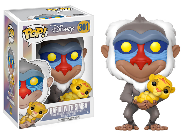 The Lion King: Rafiki (With Simba) Pop! Vinyl Figure