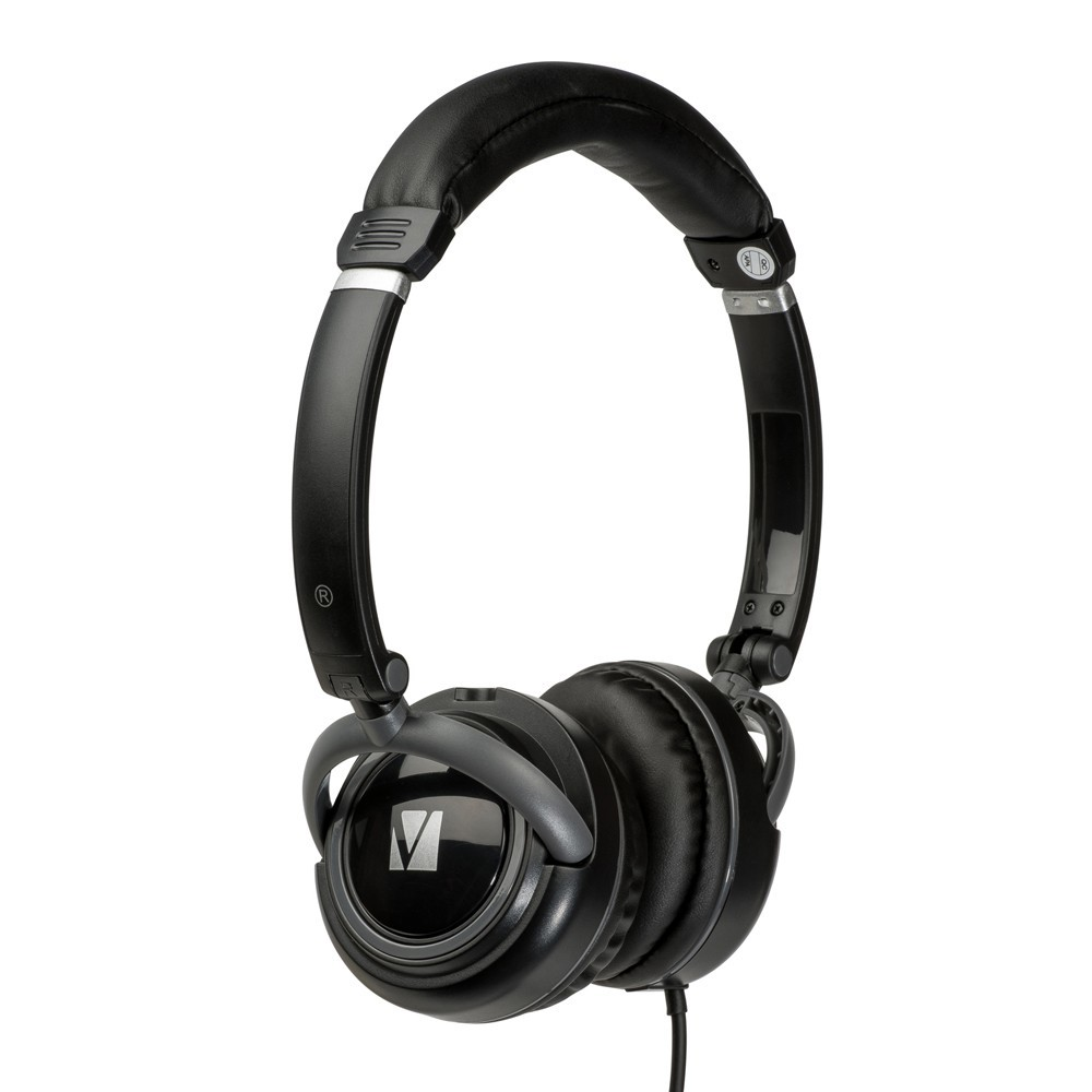 Verbatim TDK ST100 On-Ear Street Audio Headphones (Black) image