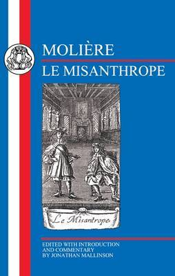 Le misanthrope by . Moliere