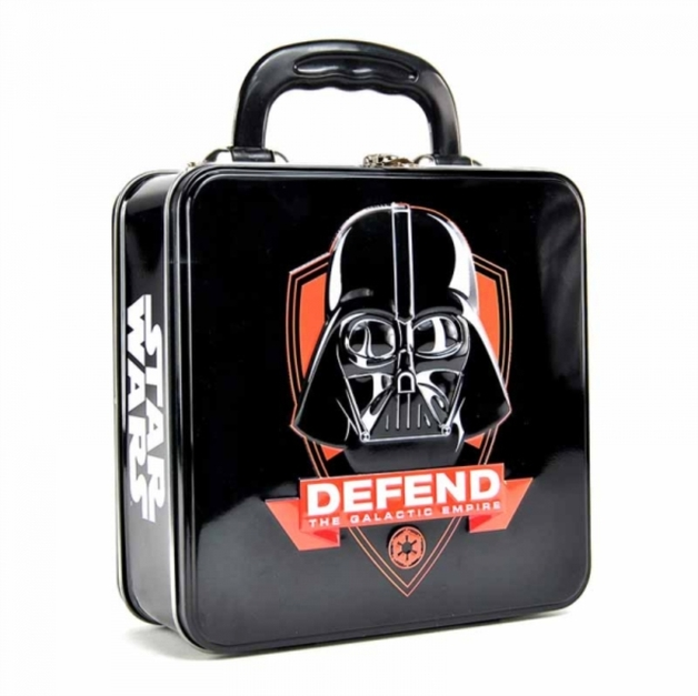 Star Wars: Tin Tote (Embossed) (Darth Vader Icon)