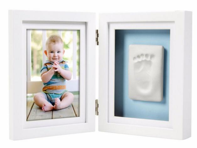 Pearhead: Baby-Prints Desk Frame - White
