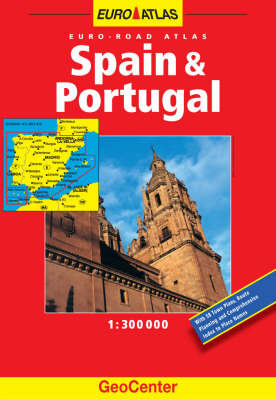 Spain and Portugal GeoCenter Atlas image